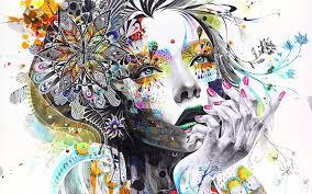 mujer creativa