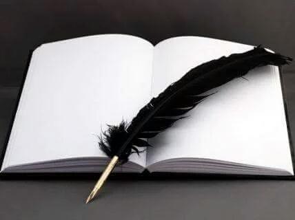 Libro en blanco